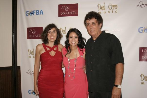 Utalk Radio hosts Steve Russo, Larissa Lam, and Kati Ann