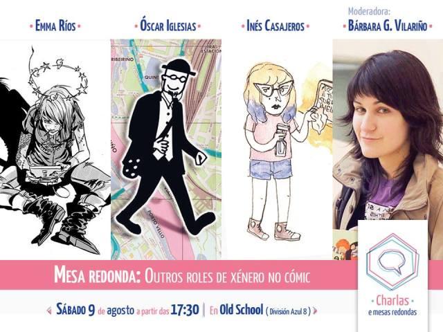 Charla_Otros roles de género en el comic
