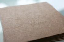posa vasos feten gastrobar imagen identidad corporativa carton sello seco