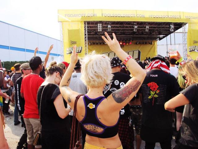 Fotografía: Lauren Engel en Day off festival