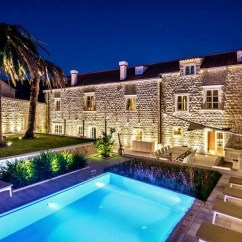 Dryer Chairs Salon High Top Table 4 Dubrovnik Stone Castle - Luxury Villa With Pool By The Sea, Croatia Holiday Rentals