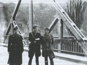 Nepoznati časnik Crne legije, Jure Francetić i Rafael Boban u Zvorniku