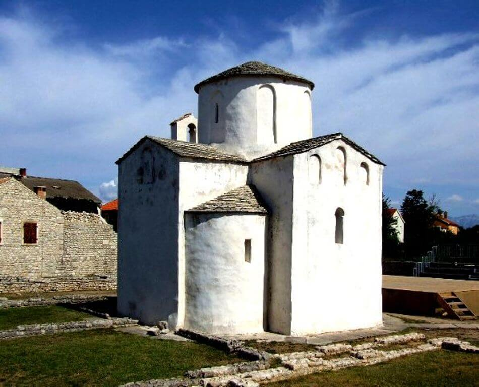 Church of the Holy Cross in Nin