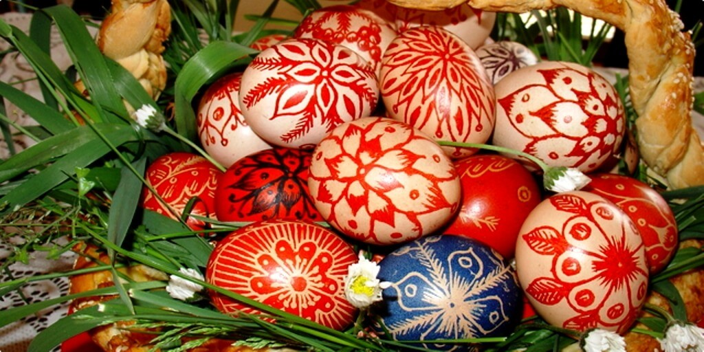 Croatian Easter Eggs