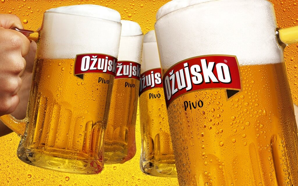 Ozujsko Beer