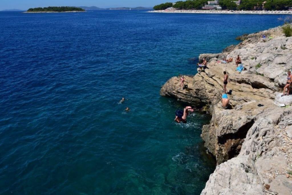 Primosten Stone Beach
