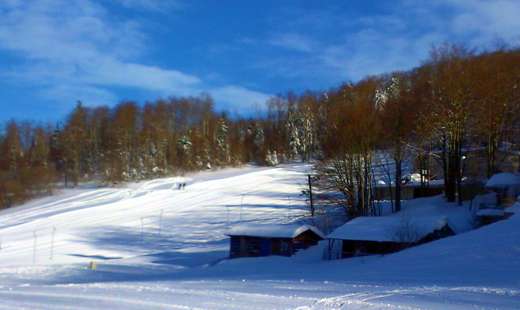 Platak, Winter in Croatia