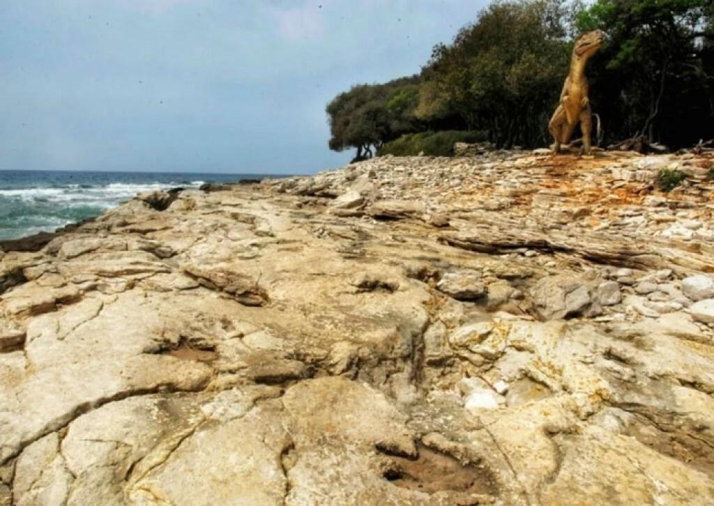 Dinosaurs Footprint, Brijuni