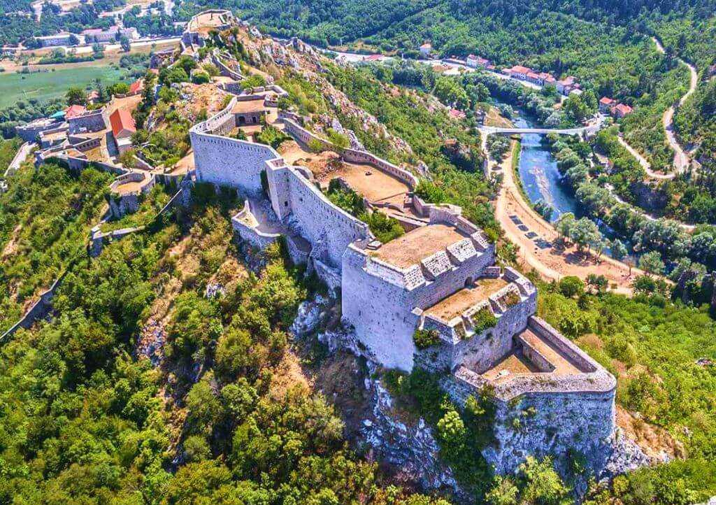 Knin Fortress, Fortresses of Croatia