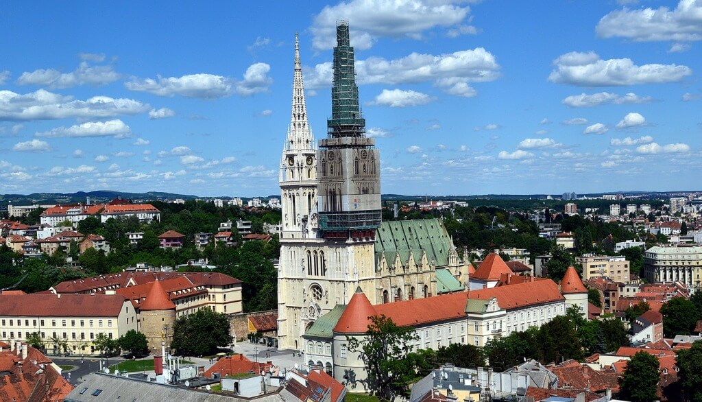 Cathedral in Zagreb