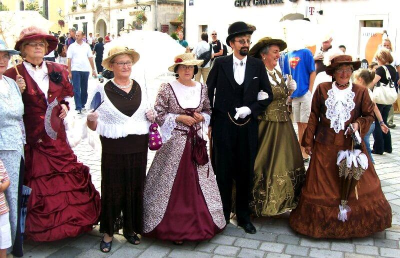 Spancir fest in Varazdin