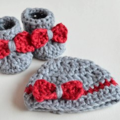 Crochet Baby Booties Diagram 1999 Honda Crv Fuse Box So Fluffy  And Beanie Free Croby