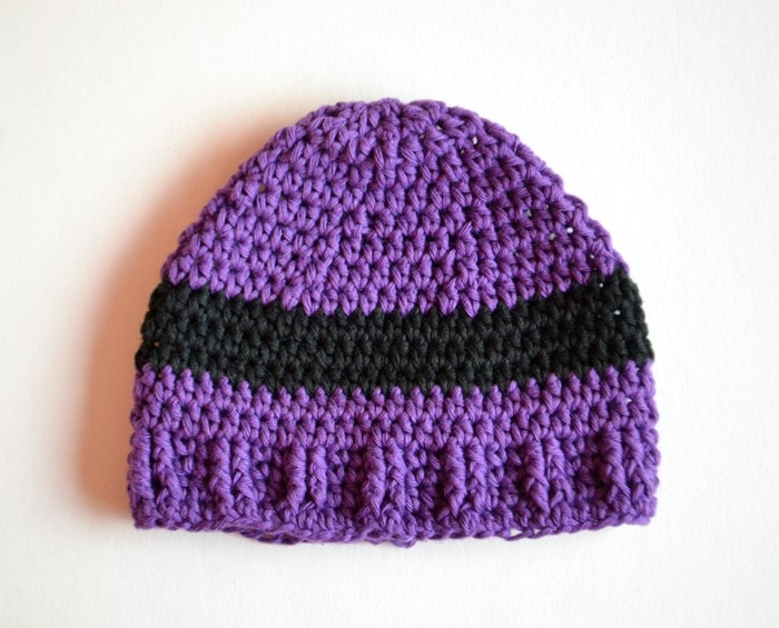 Evil Minion Inspired Crochet Baby Hat by Croby Patterns