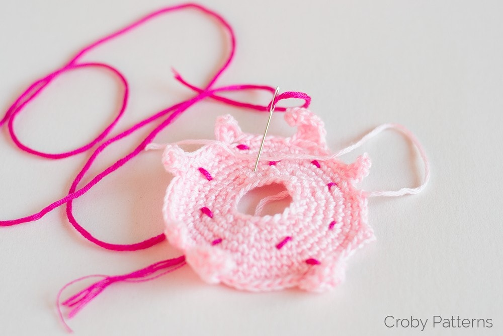 Unicorn Crochet Donuts