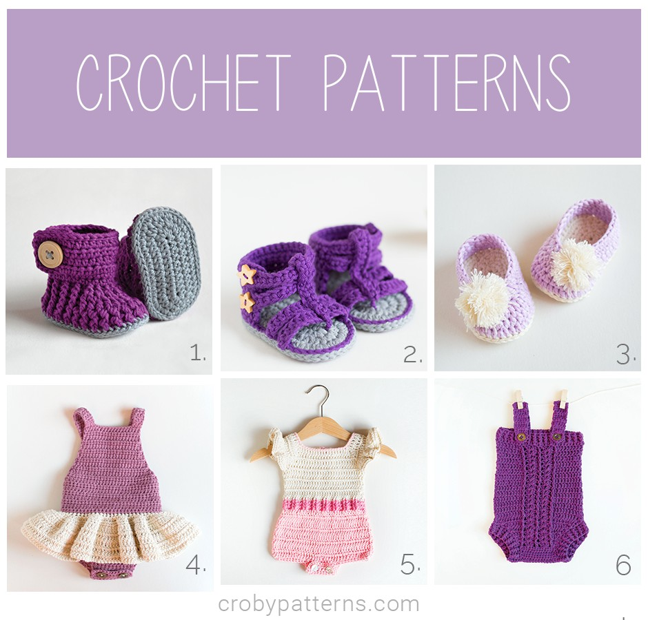 Crochet Patterns by Croby Patterns