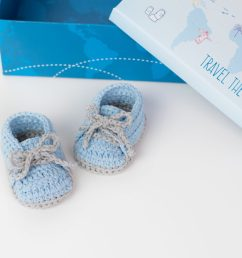 crochet baby booties by croby patterns [ 1500 x 1000 Pixel ]