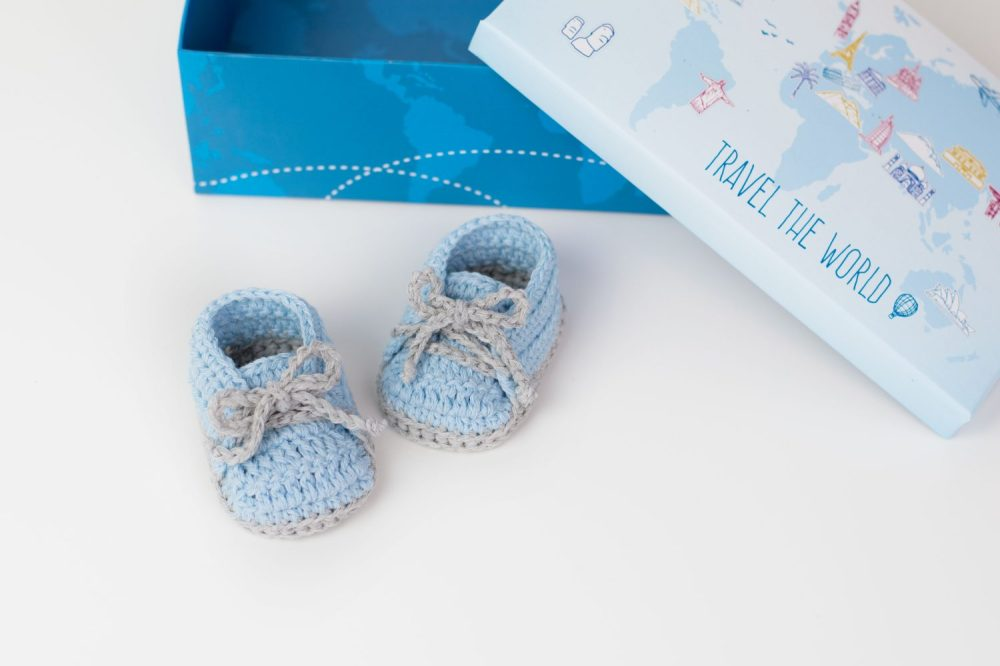 medium resolution of crochet baby booties by croby patterns