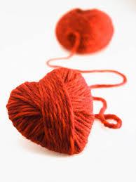 como fazer coração de crochet