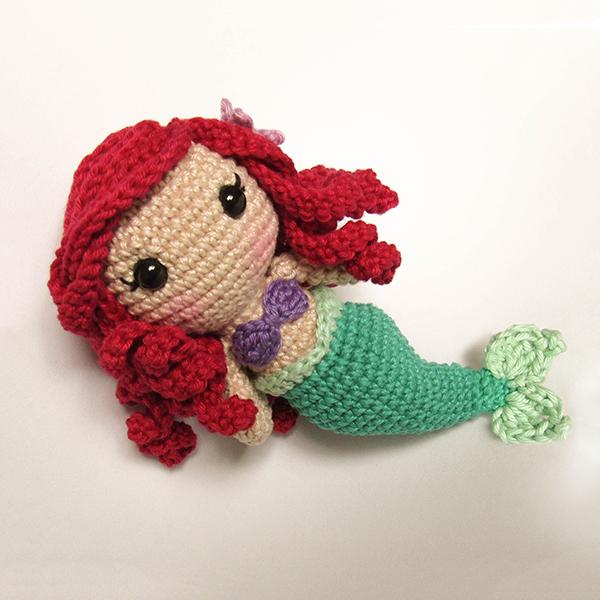 Toy art Ariel - by Crochelandia