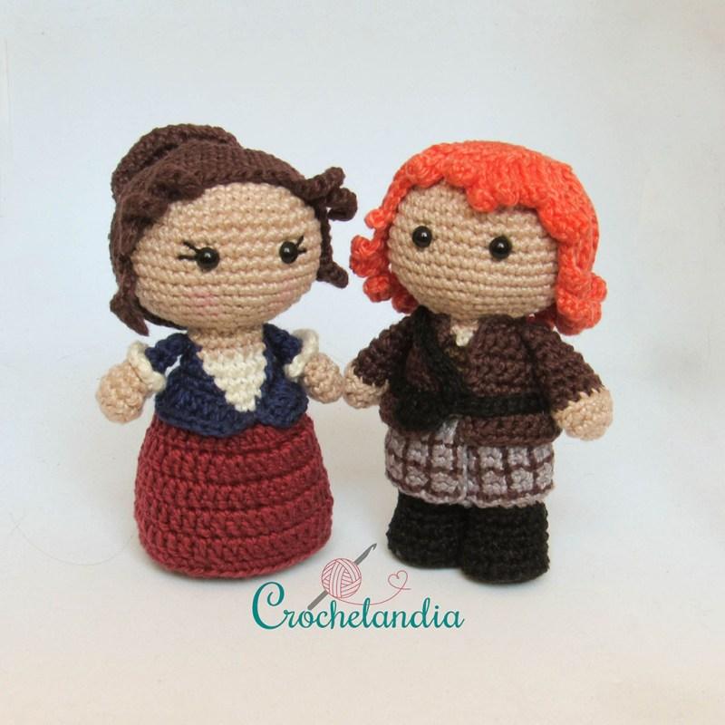 Toy Art Amigurumi Claire e Jamie