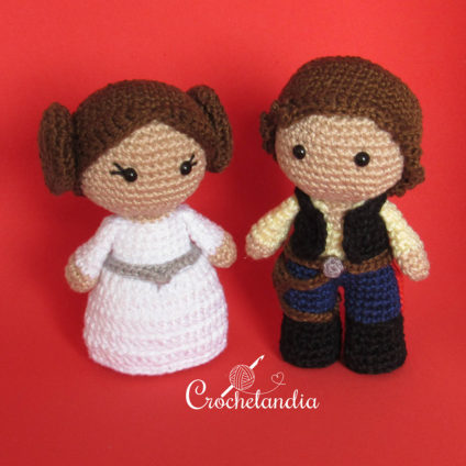 Toy Art Princesa Leia e Han Solo