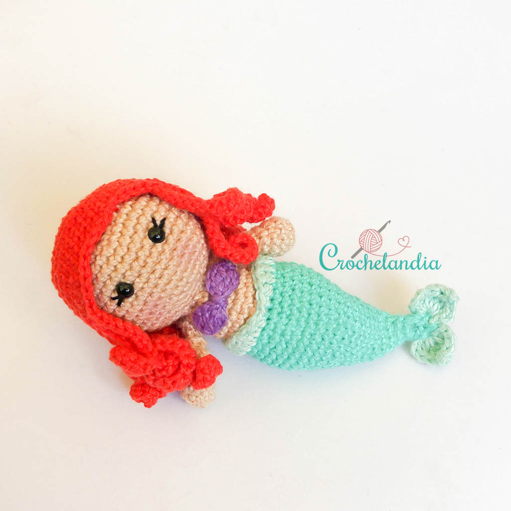 Toy Art Amigurumi Ariel