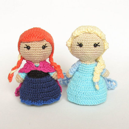 Toy Art Amigurumi Frozen