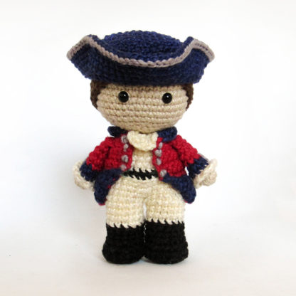 Toy Art Amigurumi Lord John Grey - Outlander