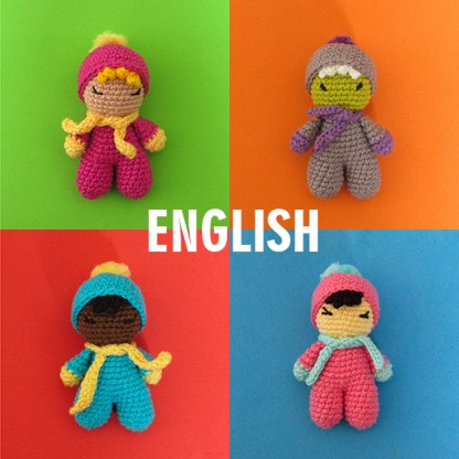 Free pattern: Fofolete MIni Doll