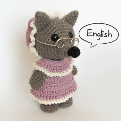 Amigurumi Big Bad Wolf