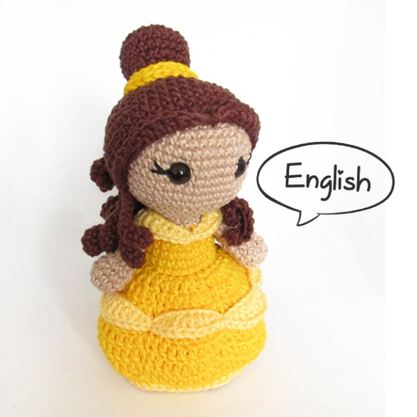 Toy Art Amigurumi Belle