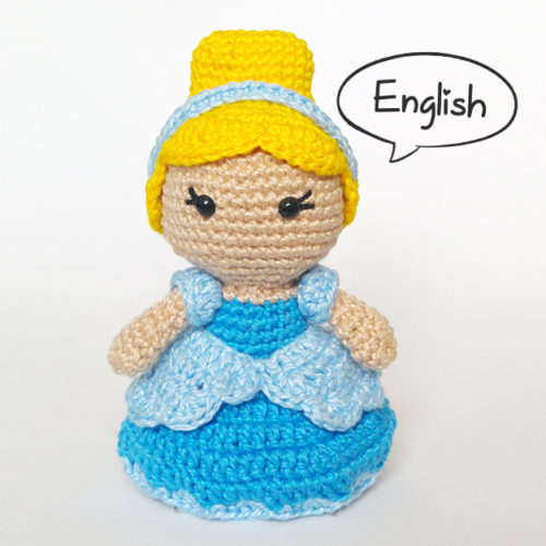 Crochet Pattern: Toy Art Cinderela