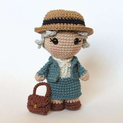 Toy Art Amigurumi Miss Marple - by Crochelandia