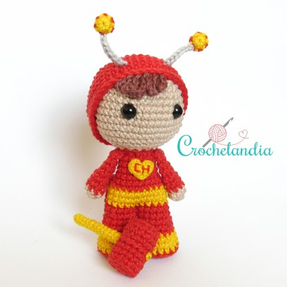 Toy Art Chapolin Colorado - by Crochelandia