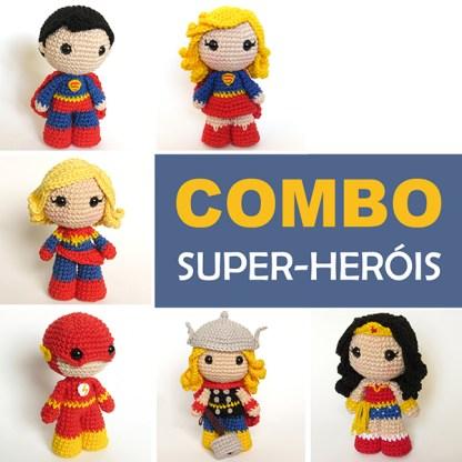 Super-heróis - by Crochelandia