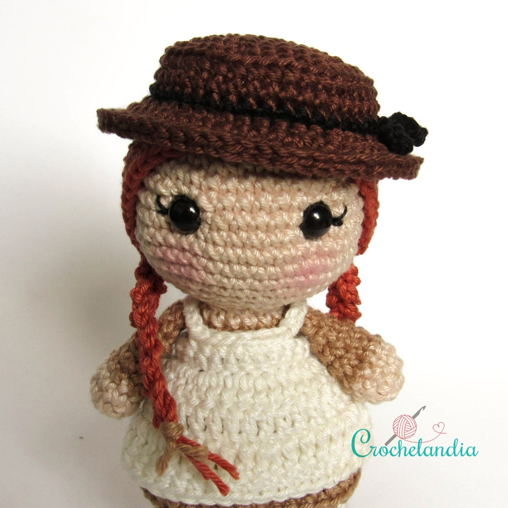 Anne de Green Gables - by Crochelandia
