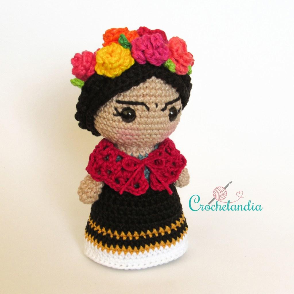 Toy Art Amigurumi Frida - by Crochelandia
