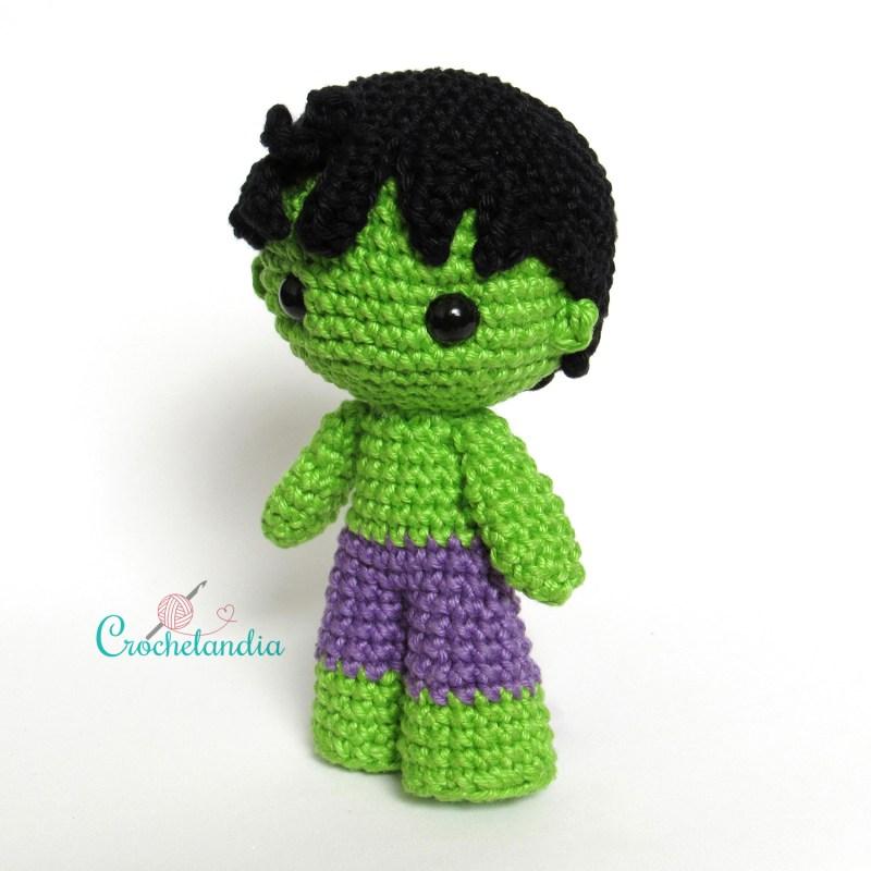 Toy Art Hulk - by Crochelandia