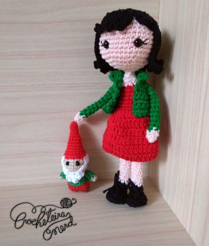 Amelie - by Crocheteira Nerd