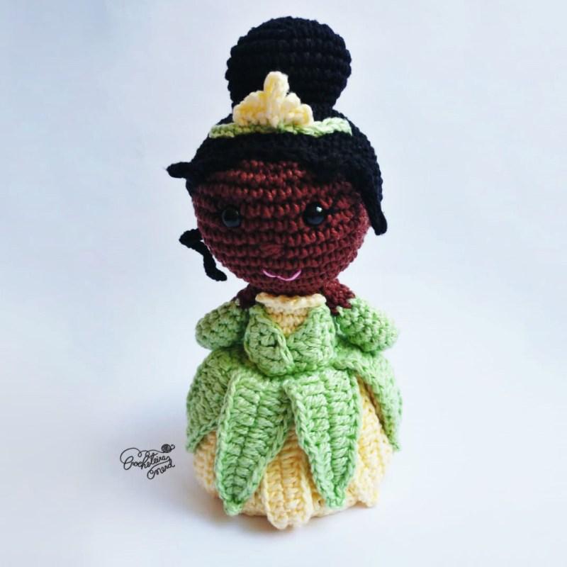 Tiana - by Crocheteira Nerd