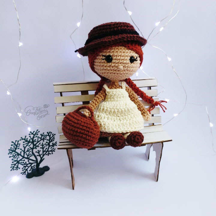 Anne - by Crocheteira Nerd
