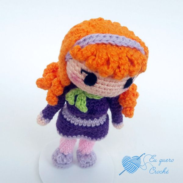 Daphne Toy Art amigurumi - By Adriana Gori
