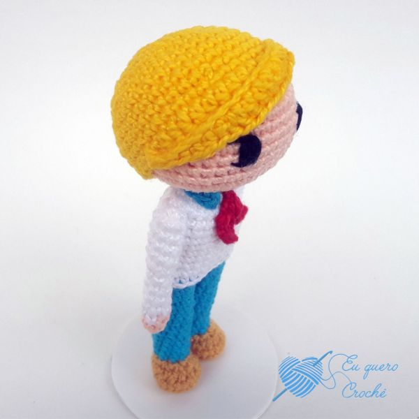 Fred Toy Art amigurumi - By Adriana Gori