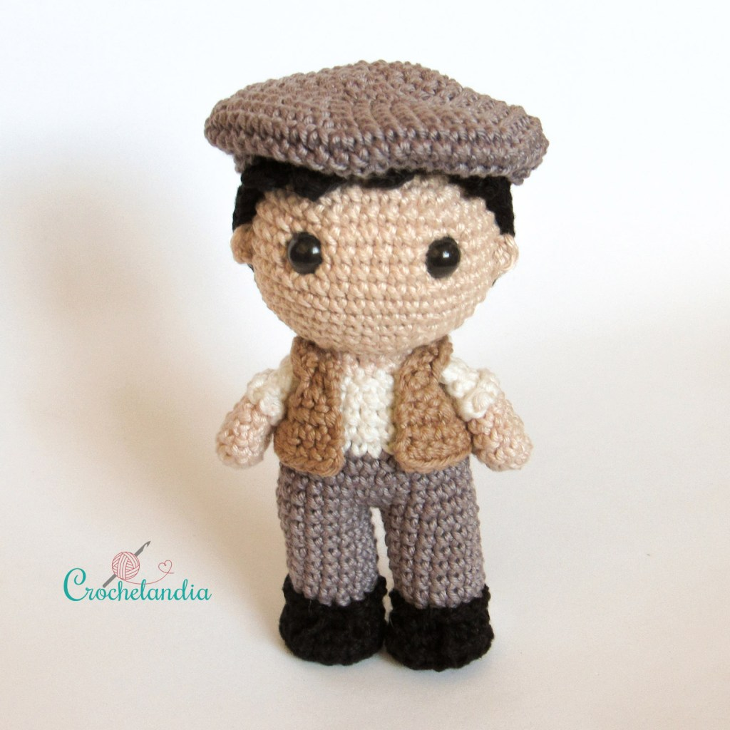 Toy Art Amigurumi Gilbert Blythe - by Crochelandia