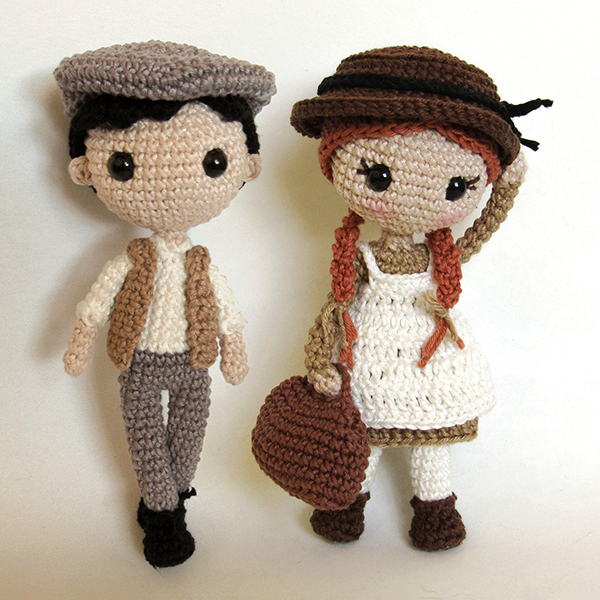 Toy Art Amigurumi Anne e Gilbert