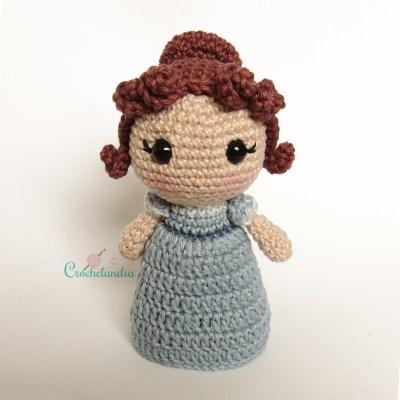 Toy Art Amigurumi Jane Austen - by Crochelandia
