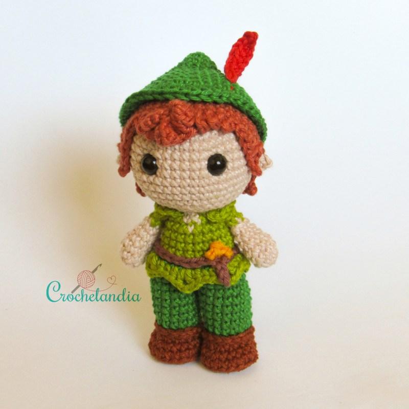 Toy Art Amigurumi Peter Pan - by Crochelandia