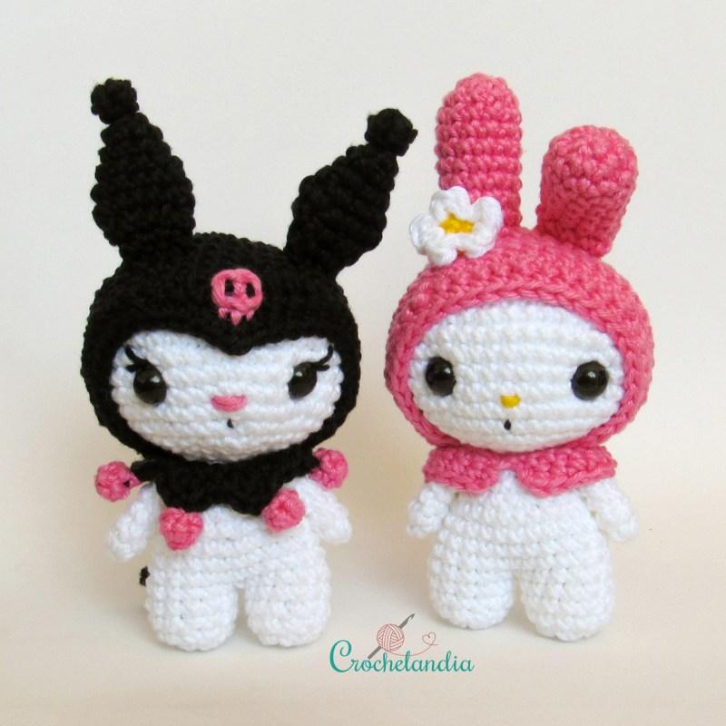 Toy Art Amigurumi Kuromi- by Crochelandia
