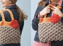 Crochet Mermaid Tears Purse