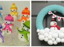 snowmen decorations crochet patternsorations.